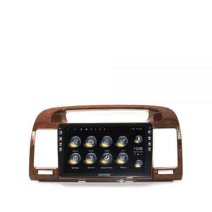 "SatNav for TOYOTA Camry 2000 - 2005 | 9"" inch (wooden colour)"