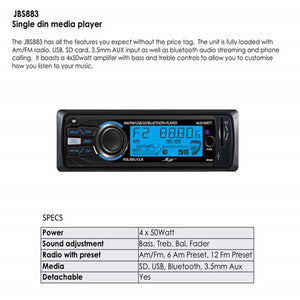 Automotive Car Audio Bluetooth Player