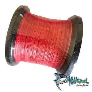 Braided line was one of the of earliest types of fishing line, and in its modern incarnations it is still very popular in some situations because of its high knot strength, lack of stretch, and great overall power in relation to its diameter.