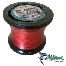 Load image into Gallery viewer, Braided line was one of the of earliest types of fishing line, and in its modern incarnations it is still very popular in some situations because of its high knot strength, lack of stretch, and great overall power in relation to its diameter.