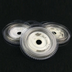 New Stainless steel coated wire trace plastic coated 10 meter rolls. 7 Strand wire trace for sport fishing