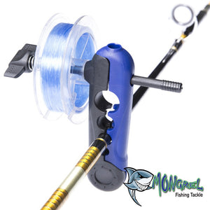 New Mongrel Tackle Portable Fishing Reel Line Spooler Suits Spools Up To 24mm