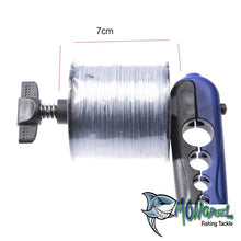 Load image into Gallery viewer, New Mongrel Tackle Portable Fishing Reel Line Spooler Suits Spools Up To 24mm