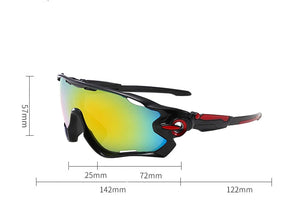 Fulljion 33.3G UV400 Unisex Fishing Sunglasses