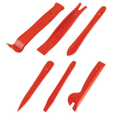 Automotive 6 piece trim tool set
