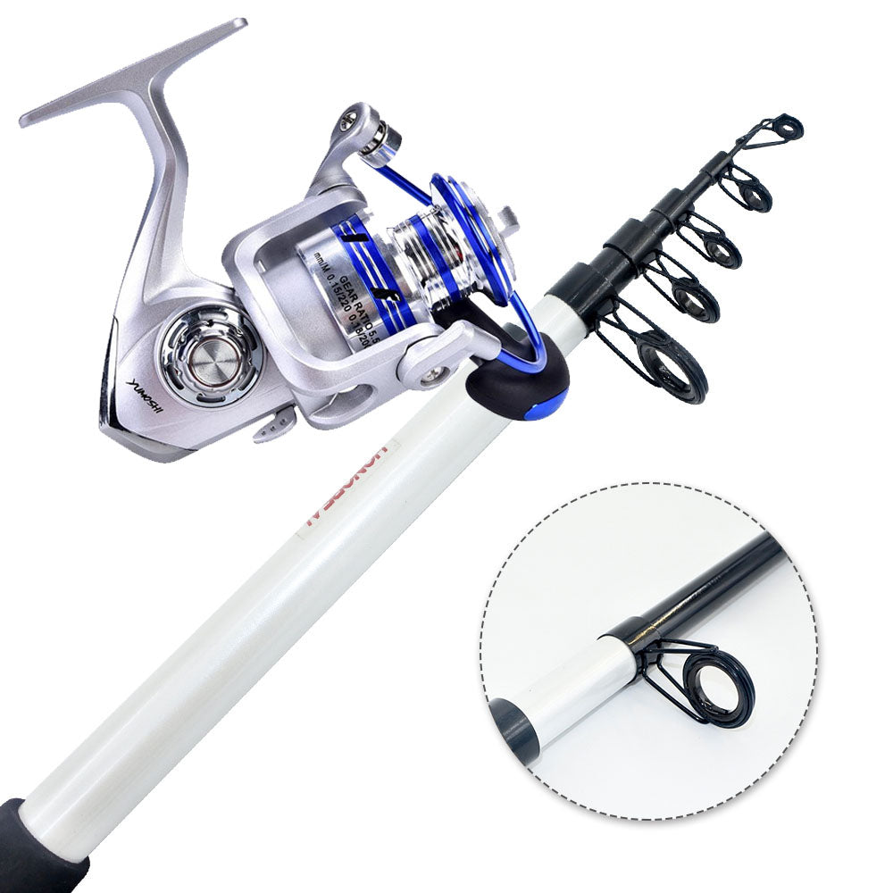 Rod and Reel Combo Telescopic Travel Rod