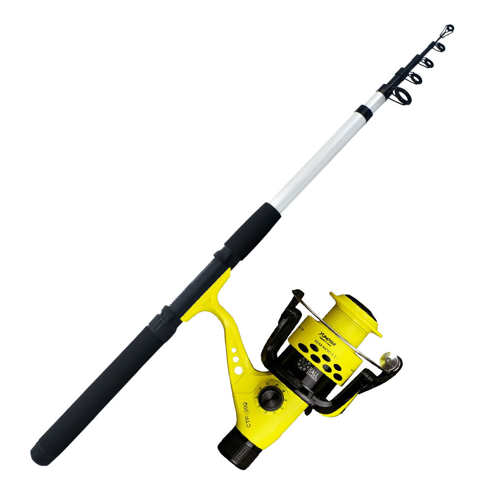 Rod and Reel Telescopic Combo 1.8 Meters