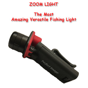 Zoom Flash Light Torch Fishing Multi Torch Camping