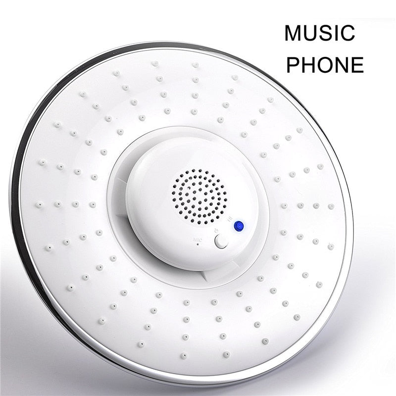 Music Shower Head with Wireless Bluetooth Speaker