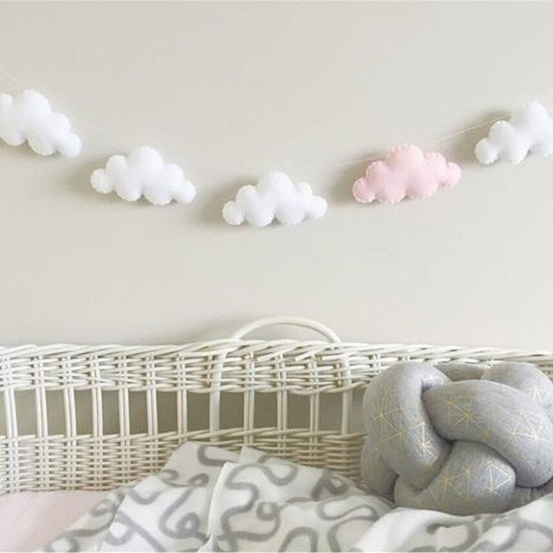 Nordic Coloful Cloud Baby Room Decor