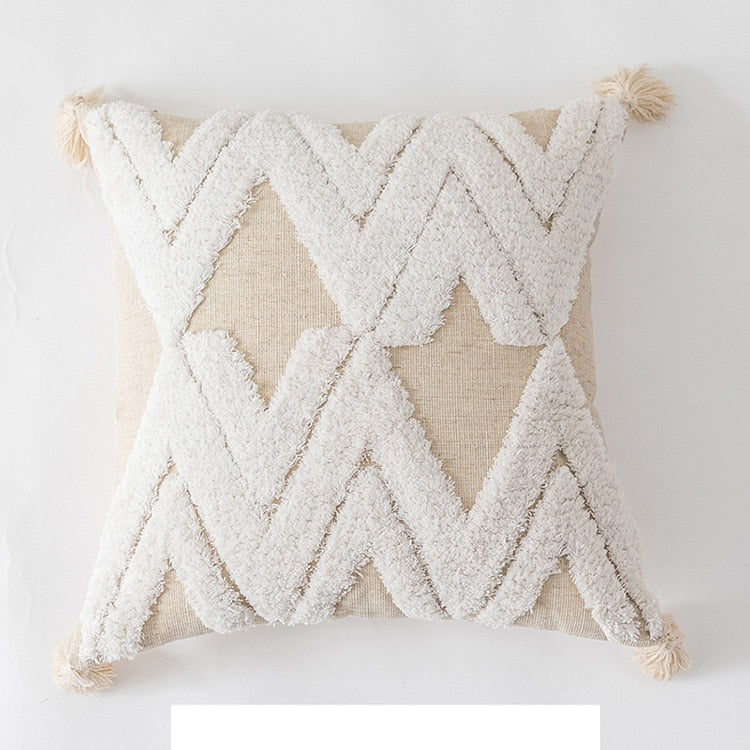 Boho Style Handmade Decoration Pillow Cover