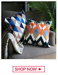 Modern Geometric Decorative Throw Pillow Cushion Covers