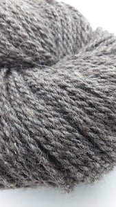 Romney Sheep Yarn- Natural Steel Grey