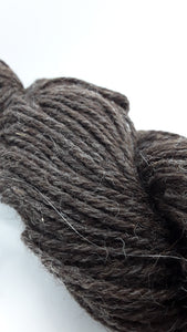 Romney Sheep Yarn- Natural Dark Grey