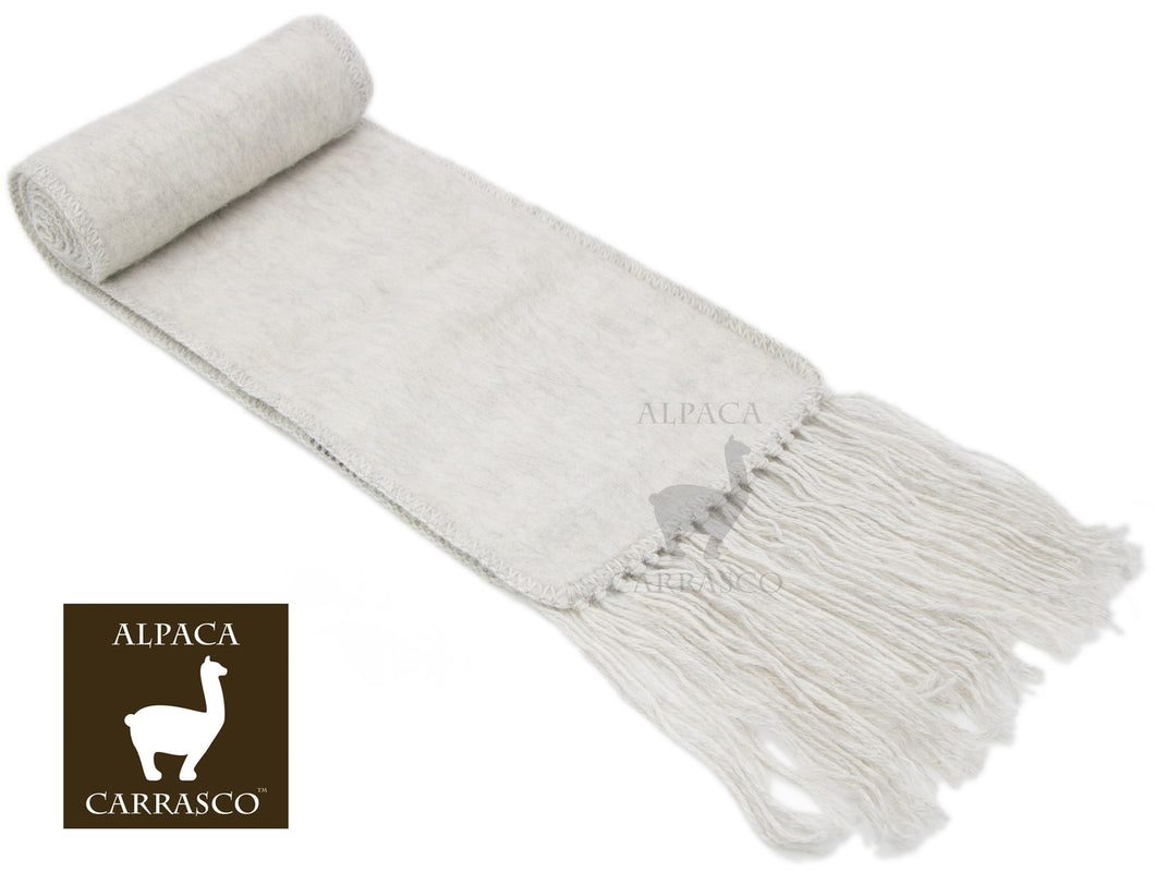 Narrow Alpaca Scarf