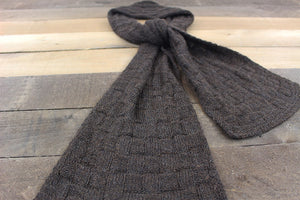 Basketweave Suri Scarf