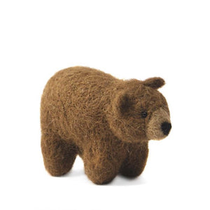Mountain Bear: Wildlife Alpaca Fiber Ornament