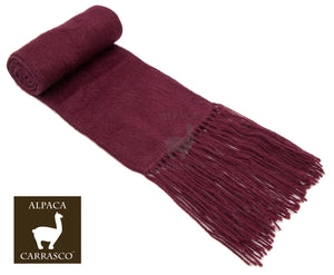 Narrow Alpaca Scarf (10+ Colors)