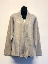 Cable Shawl Collar Cardigan