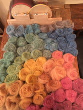 Alpaca Dyed Roving - 6 Colors (1oz bag)