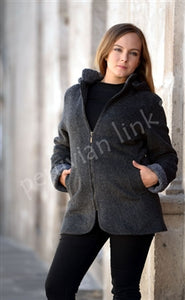 Country Classic Ladies Alpaca Coat