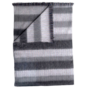 Pokoloko Fringe Blanket -Mood Grey-