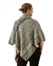 Granite Cowl Neck Poncho