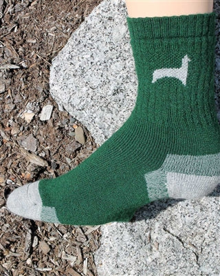 Hunter Alpaca Sock