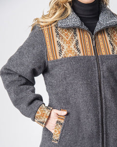 Ladies Alpaca Barn Jacket