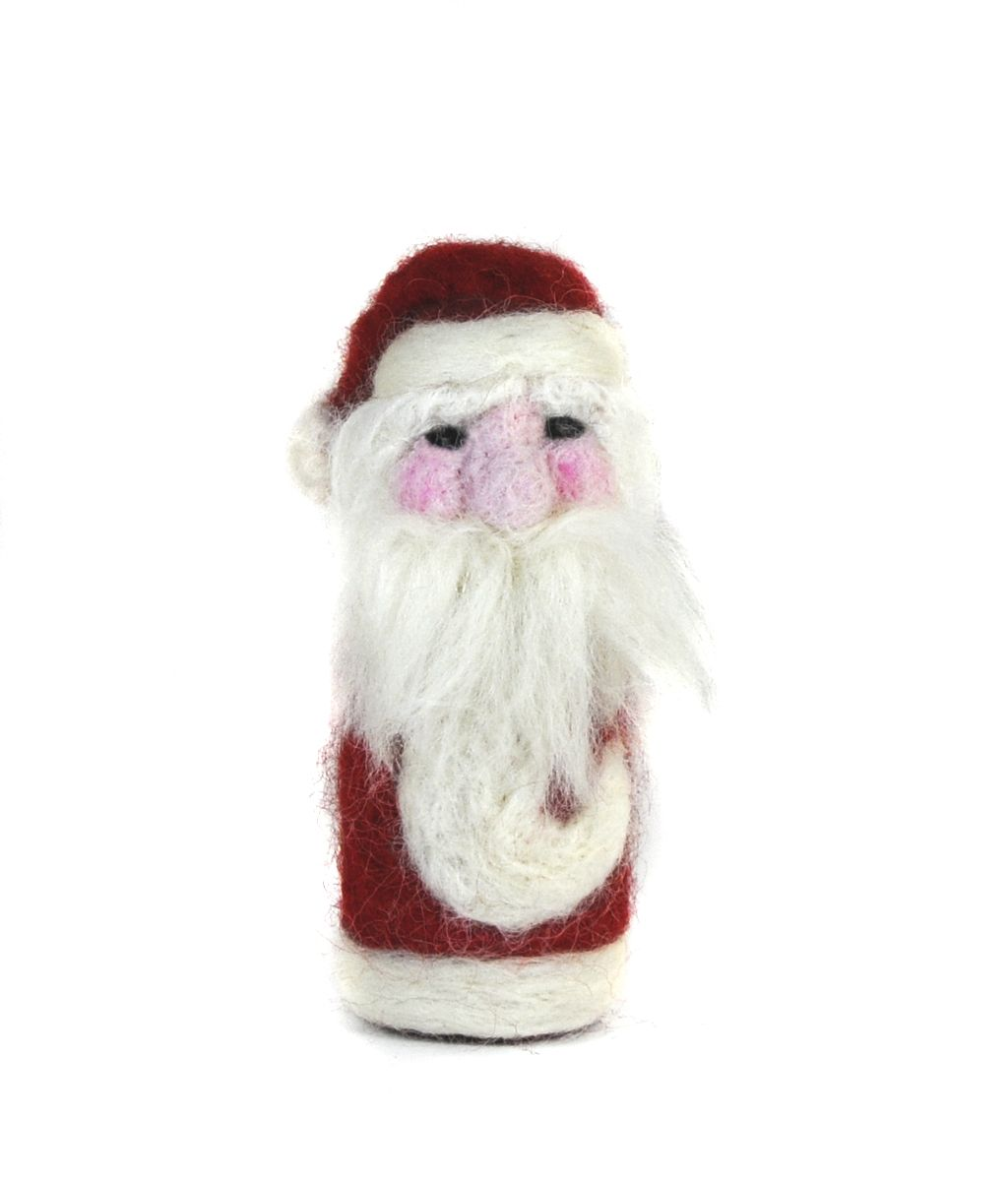Lil' Santa Alpaca Holiday Ornament