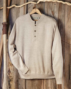 Button Men's Baby Alpaca Crewneck