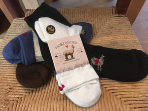 Norlander Lightweight Short Alpaca Socks