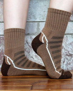Short Crew Alpaca Sock