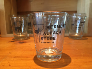 Vermont Alpaca Store Shot Glass