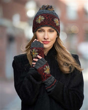 Smokey Mountain Alpaca Lined Fingerless Gloves