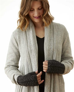 Town & Country Alpaca Cardigan Black
