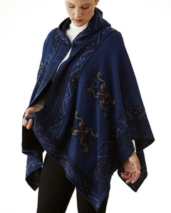 Treasure Reversible Hooded Cape