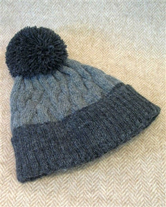 Two-Tone Alpaca Lined Hat