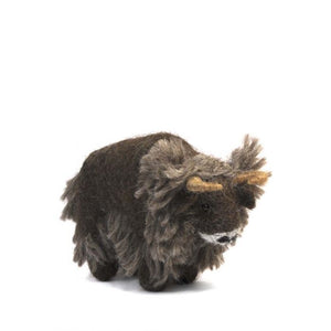 Yak: Wildlife Alpaca Fiber Ornament