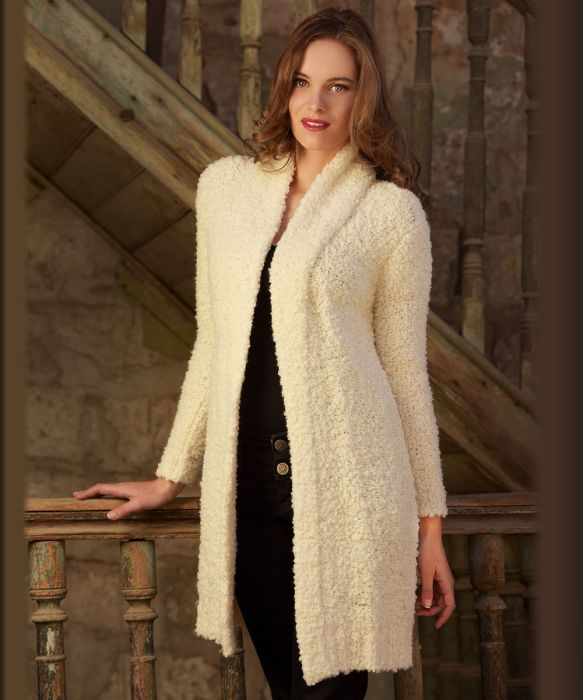 Classic Boucle Lounger Coat