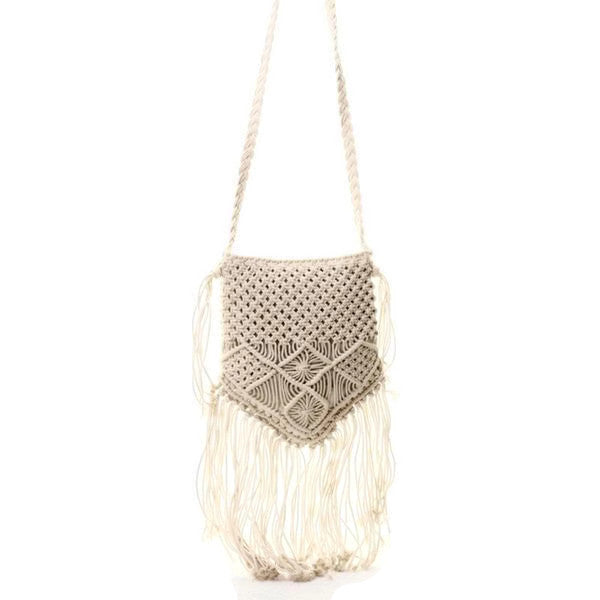 Cotton Crossbody Bag - Deja
