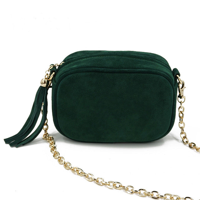 Leather Shoulder Bag - Twilla