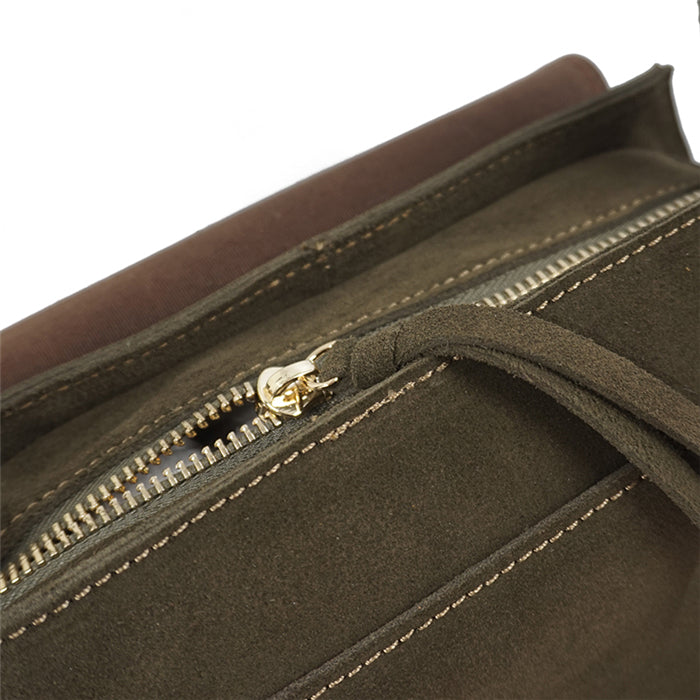 Leather Crossbody Bag - Kara