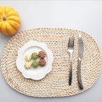 Large Oval Corn Husk Placemat