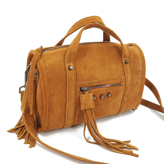 Leather Handbag - Noa