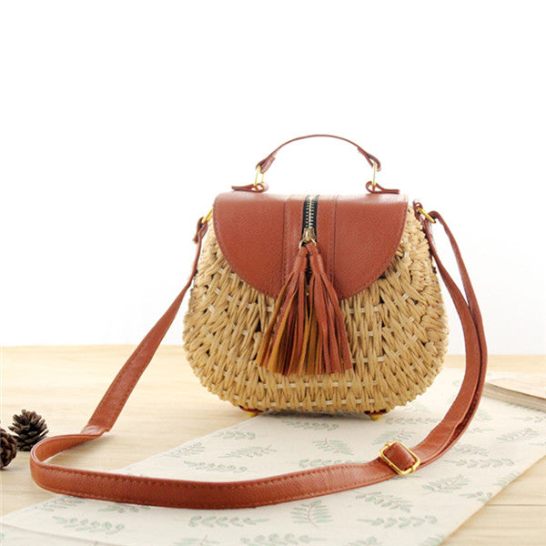 Straw Crossbody Bag - Josie (3 colors available)