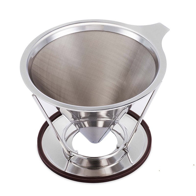 Deluxe Reusable Stainless Steel Coffee Drip