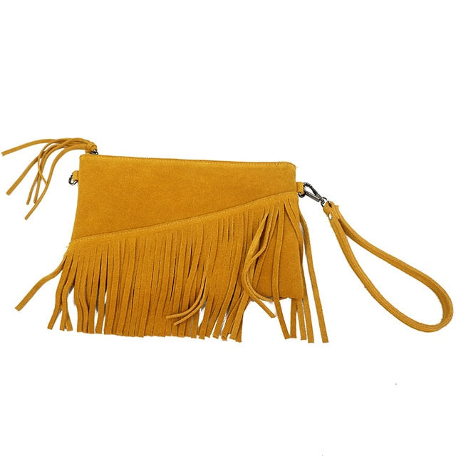 Leather Wrist Bag - Zella