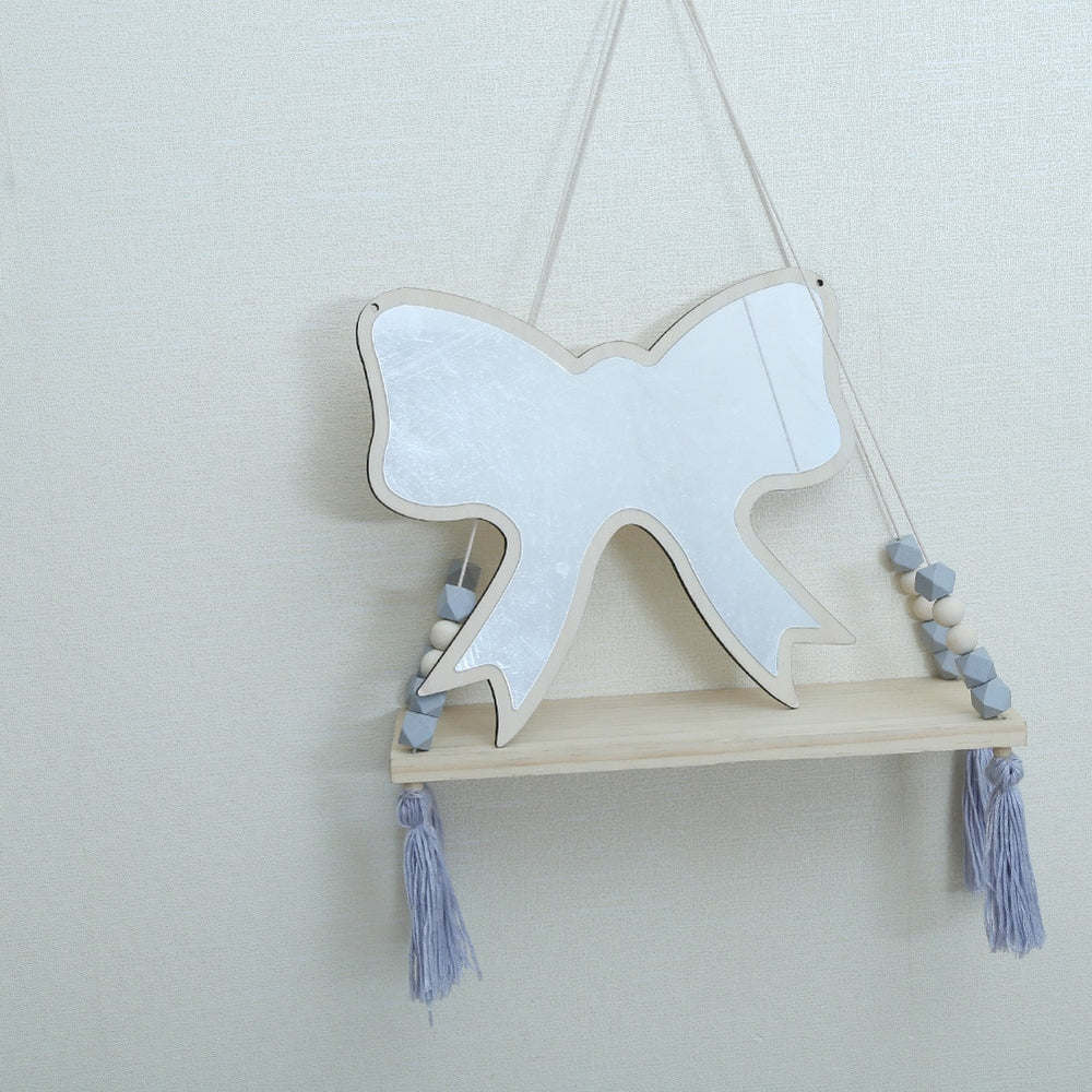 Boho Kids Bow Bedroom Mirror