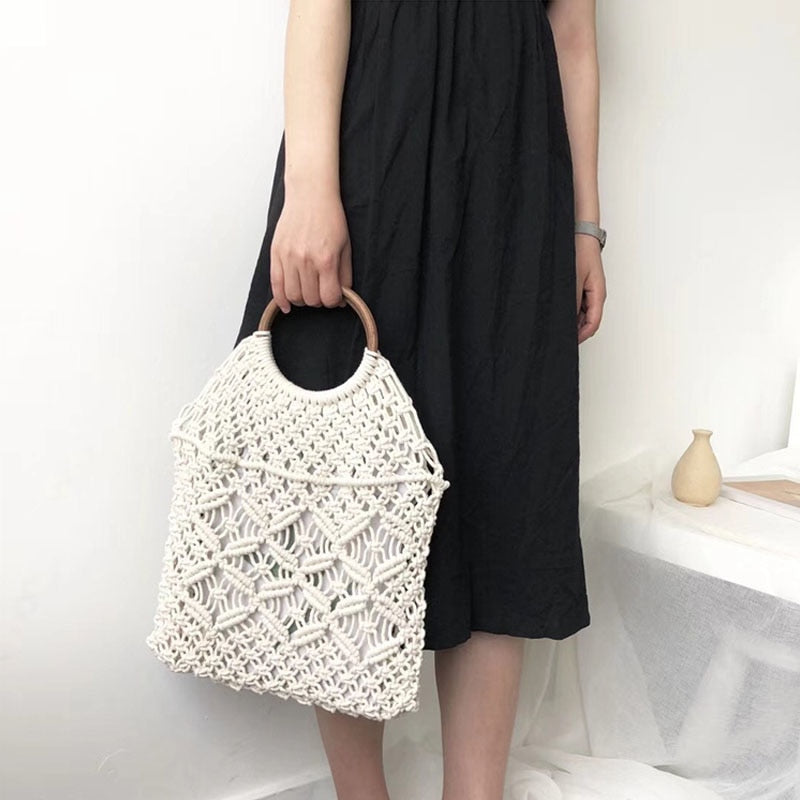 Cotton Tote Bag - Hazel